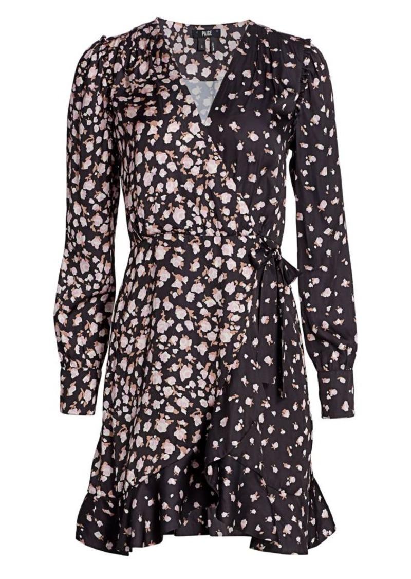 Paige Carrie Ann Floral Wrap Dress