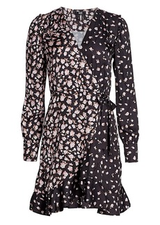 Paige Carrie Ann Floral Wrap Dress