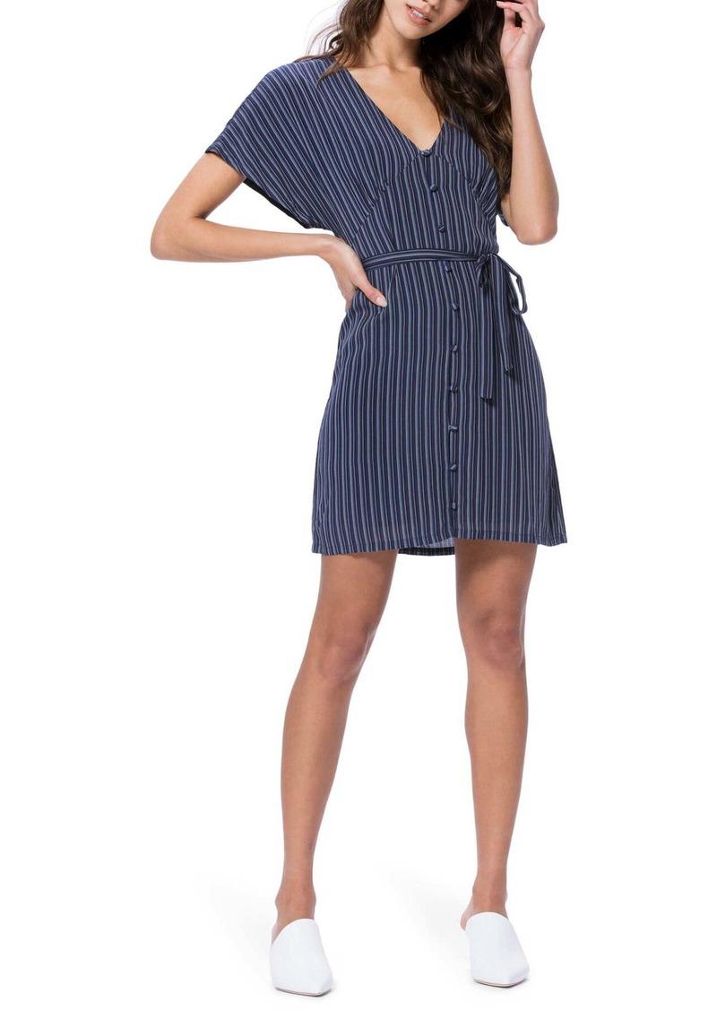 Paige Cherelle Stripe Mini Dress