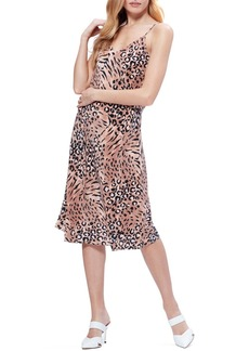 Paige Cicely Print Silk Slipdress