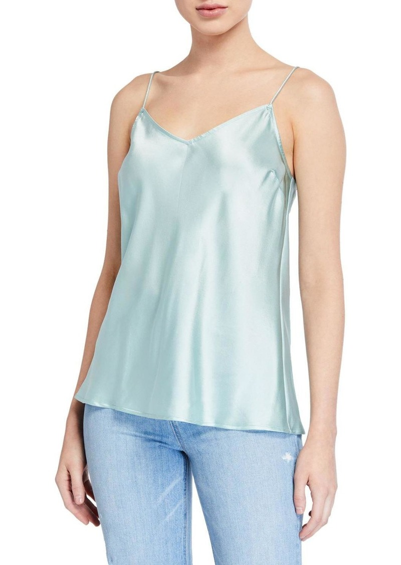Paige Cicely Silk Camisole w/ V-Back