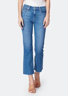 Paige Colette High Rise Crop Flare Jeans