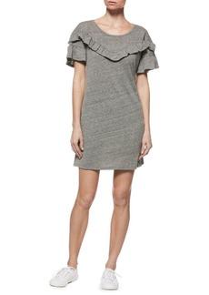 Paige Denim Adalie Ruffle T-Shirt Dress