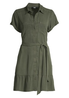 Paige Callan Belted Mini Dress