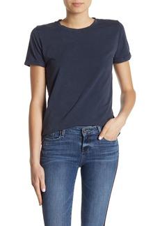 Paige Cassandra Rolled Sleeve Linen T-Shirt