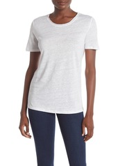 Paige Cassandra Slub Linen T-Shirt