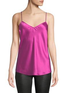 Paige Denim Cicely V-Neck Silk Camisole Top
