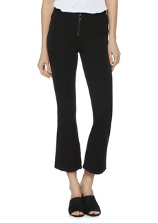 Paige Denim Colette High-Rise Crop Flare Jeans