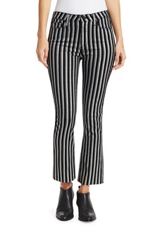 Paige Denim Colette Cropped Flare Pants