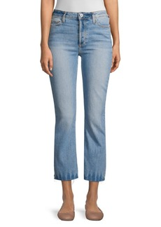 Paige Colette Flared Cropped Jeans