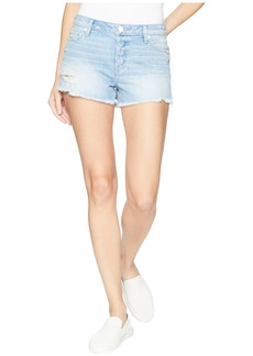 Paige Denim Emmitt Relaxed Shorts in Adora
