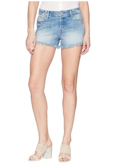 Paige Denim Emmitt Relaxed Shorts in Janis Destructed