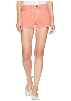 Paige Denim Emmitt Relaxed Shorts in Vintage Coral Reef