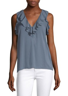 Paige Denim Farfalla Ruffled Top