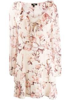 Paige floral print short dress