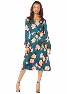 Paige Denim Fontaine Midi Dress
