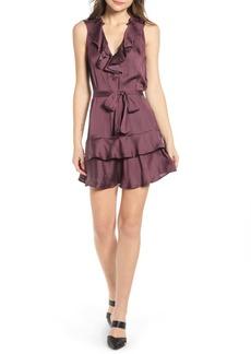 Paige Frieda Ruffle Mini Dress