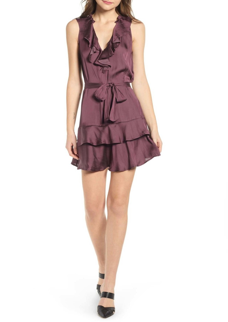 Paige Frieda Ruffle Mini Dress