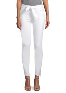 Paige Hoxton High Rise Knot Jeans