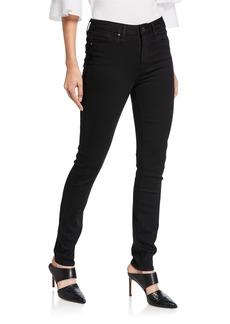 Paige Denim Hoxton Ultra-Skinny Ankle Jeans  Black Shadow