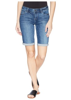 Paige Denim Jax Knee Shorts in Bloomfield