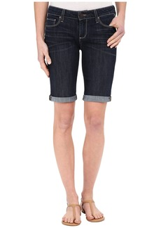 Paige Denim Jax Knee Shorts in Lavena