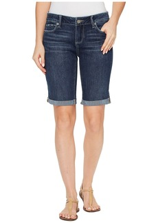 Paige Denim Jax Knee Shorts in Marquis