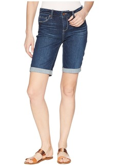 Paige Denim Jax Knee Shorts in Mazetti
