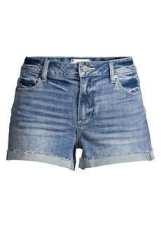 Paige Jimmy Denim Cuff Shorts