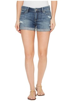 Paige Denim Jimmy Jimmy Shorts with Raw Hem in Alta Destructed