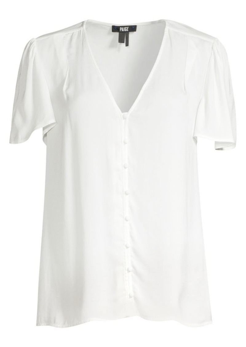 Paige Kelly Short-Sleeve Top