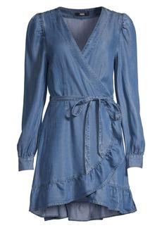 Paige Kendry Denim Wrap Dress
