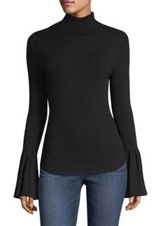 Paige Denim Kenzie Bell-Sleeve Sweater