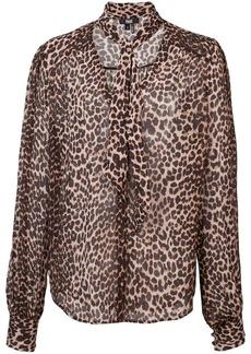 Paige Denim leopard print blouse
