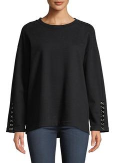Paige Denim Manon Crewneck Pullover Sweatshirt
