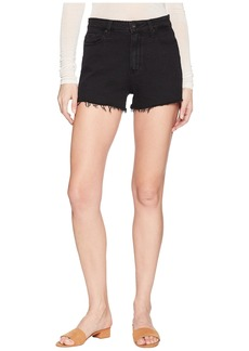 Paige Denim Margot Shorts in Vintage Black