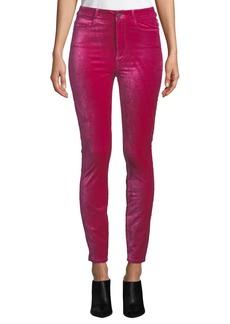 Paige Denim Margot Velvet Ankle Skinny Jeans