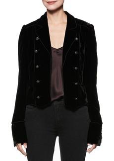 Paige Denim Maribel Velvet Jacket