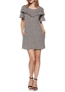 Paige Denim PAIGE Adalie Ruffle T-Shirt Dress