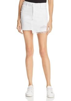 Paige Denim PAIGE Afia Denim Skirt in Crisp White - 100% Exclusive