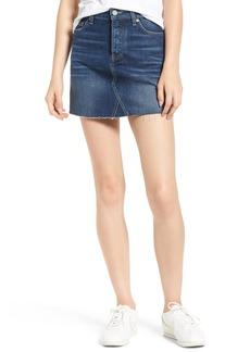 Paige Denim PAIGE Aideen Denim Miniskirt