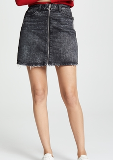 Paige Denim PAIGE Aideen Denim Skirt with O-Ring