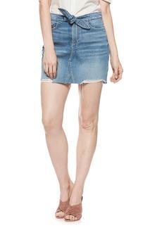 Paige Denim PAIGE Alethea High Waist Denim Skirt