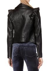 66fd8e8072c8 Paige Denim PAIGE Annika Leather Moto Jacket Now  489.30