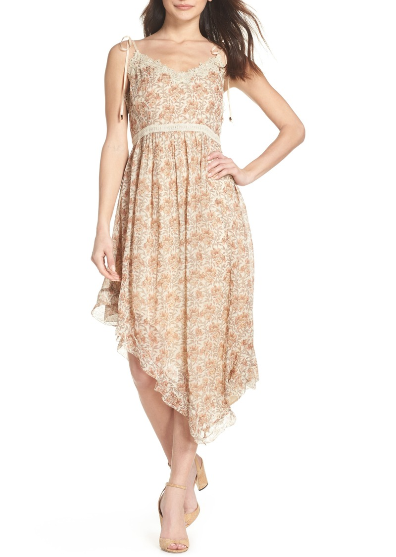 PAIGE Aubrey Floral Print Dress