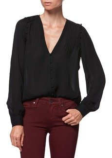 Paige Denim PAIGE Aurinda Silk Top