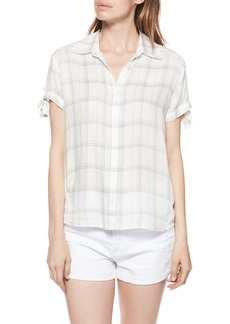 Paige Denim PAIGE Avery Plaid Shirt