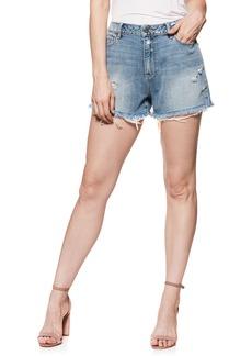 Paige Denim PAIGE Babes Distressed Cutoff Denim Shorts (Road Trip)