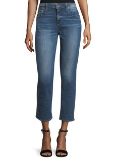 Paige Denim Brigette Straight-Leg Ankle Jeans
