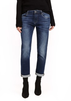 Paige Denim PAIGE Brigitte High Waist Crop Boyfriend Jeans (Enchant)